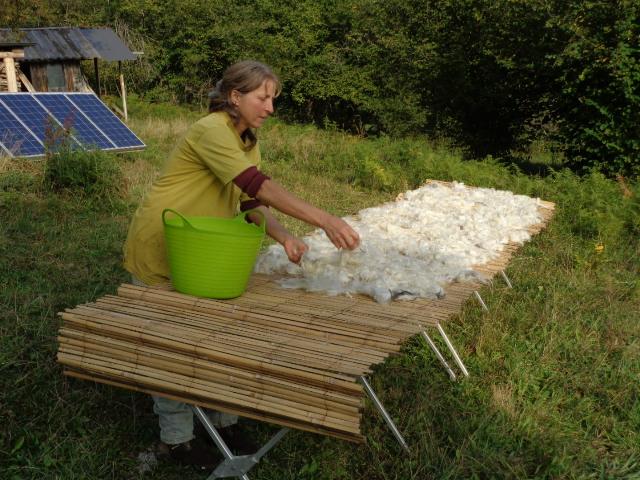 sechage d ela laine